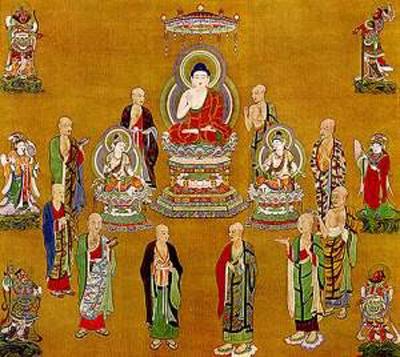 佛陀的十大弟子指的是谁?