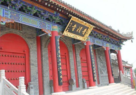 陕西长安香积寺