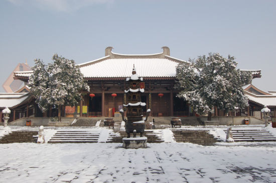 陕西扶风县法门寺