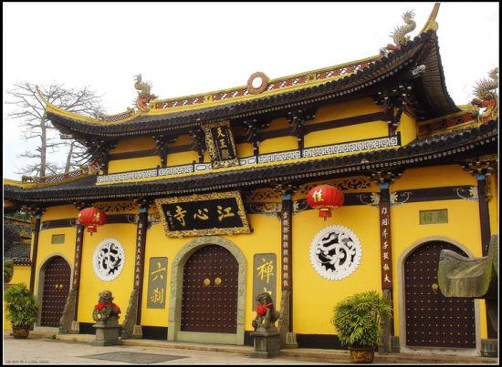 浙江温州江心寺