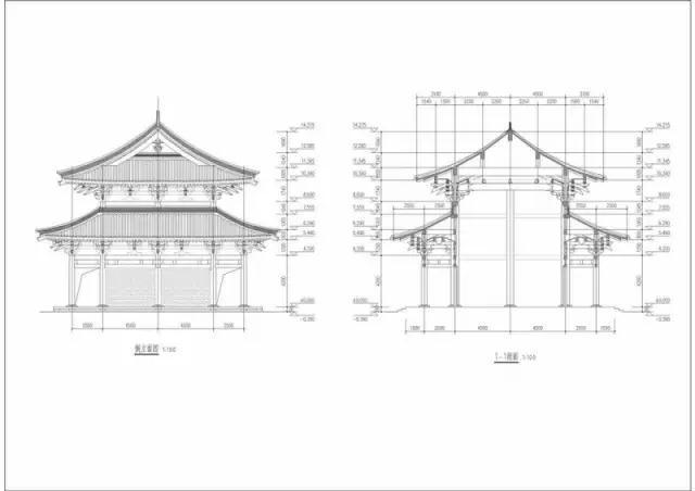二祖寺山门和天王殿规划图(资料图)