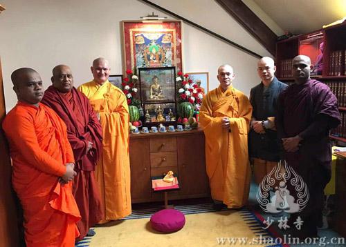 英国少林修文化中心举行庆祝活动迎接新年