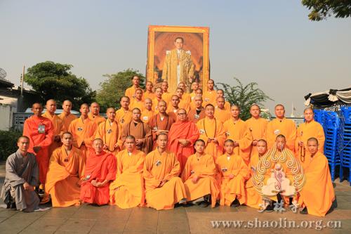 2017年少林功夫曼谷行•迎新祈福法会在泰国首都曼谷开幕