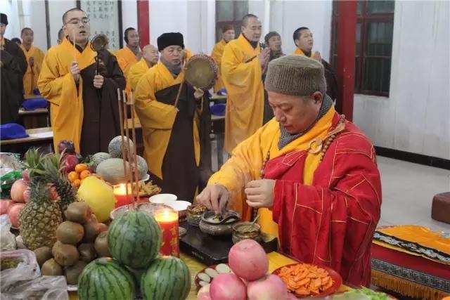 腊月二十三,大相国寺隆重举行祭灶法会