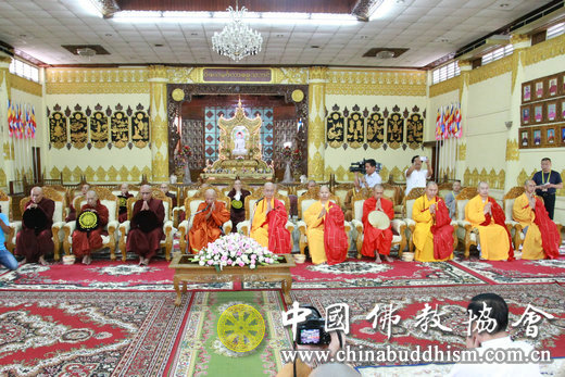 中国佛教协会代表团出访缅甸 共谱佛教文化交流华彩乐章