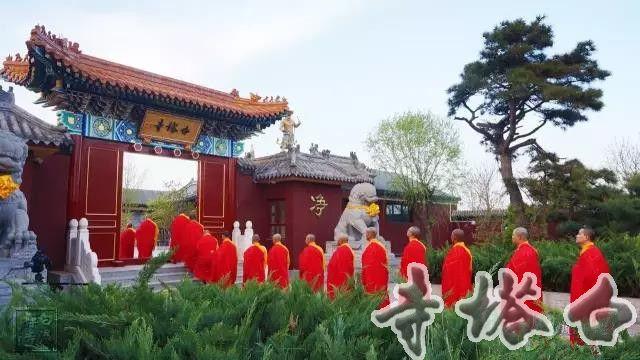 2017年农历四月十二(5月7日)京南永清白塔寺三宝金刚塔奠基