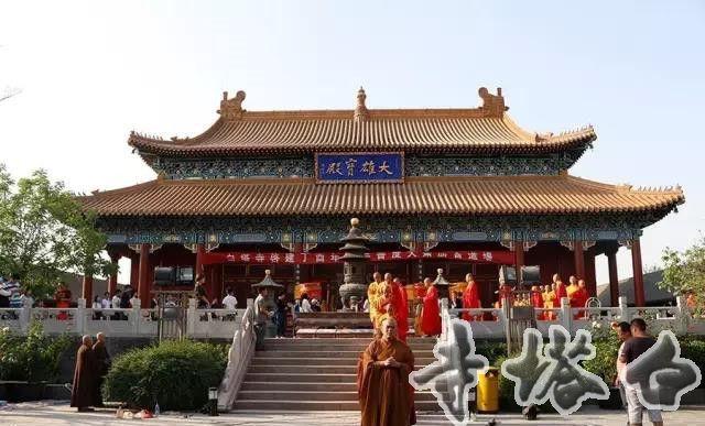 白塔寺2017年五一水陆法会今日正式开坛
