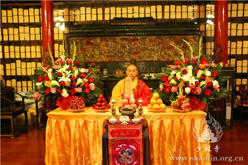 少林寺举行浴佛节大法会 纪念佛祖诞辰2641周年