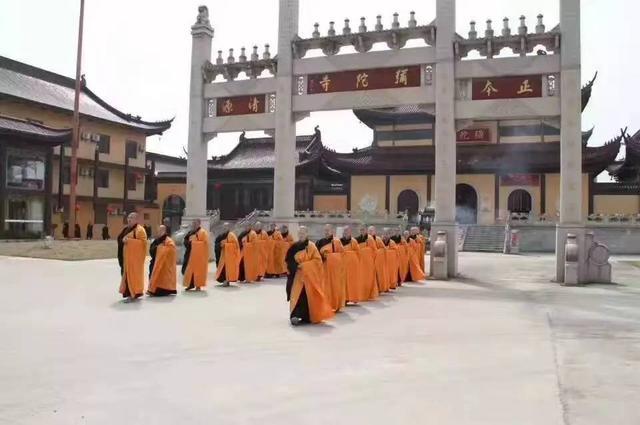 江苏省东台市弥陀寺第二十四期短期出家活动公告
