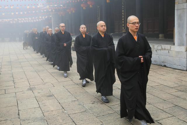 """江苏宝华山隆昌寺""""如僧修行 当勤精进""""共修活动通启"""