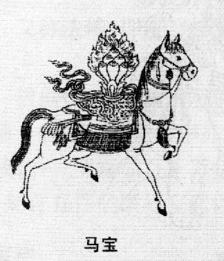 佛教中有哪些与马相关的用语?