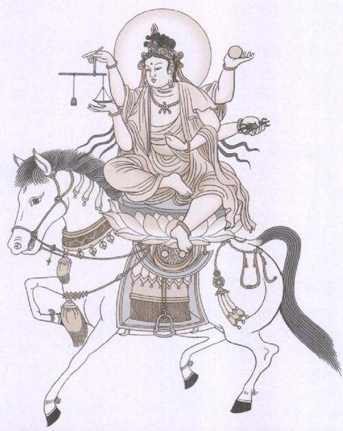 马在佛经中有何譬喻?