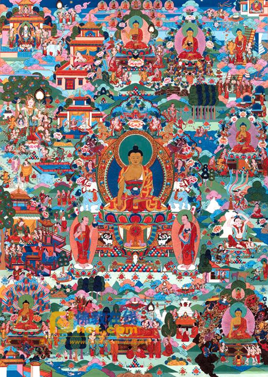 佛陀十二相成道图