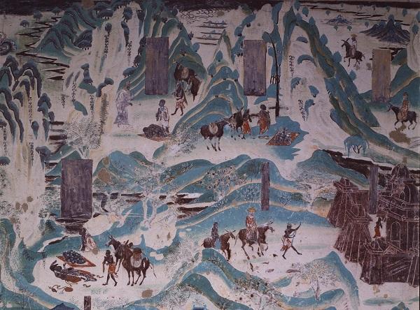 石窟造像题材和佛教宗派有哪些关系?