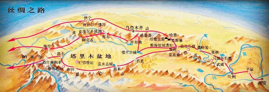 丝绸之路和石窟兴盛有什么关系?