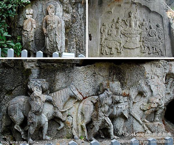 唐僧行经等西行求法事迹在石窟艺术中有哪些表现?