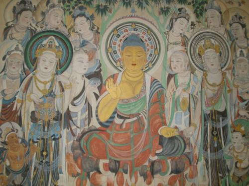 大乘和小乘佛教艺术有什么不同?