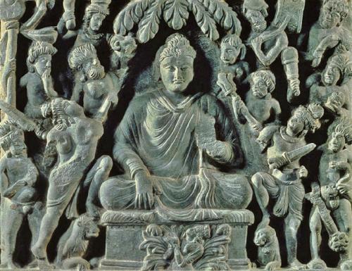 为什么印度早期佛教艺术中没有佛像?
